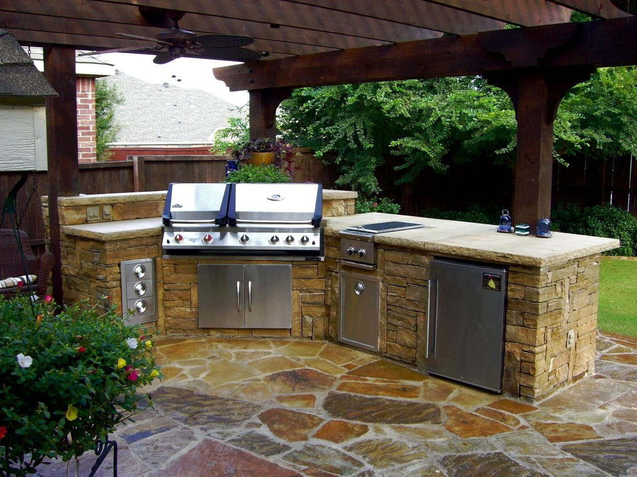 Cabinets within the Outdoors