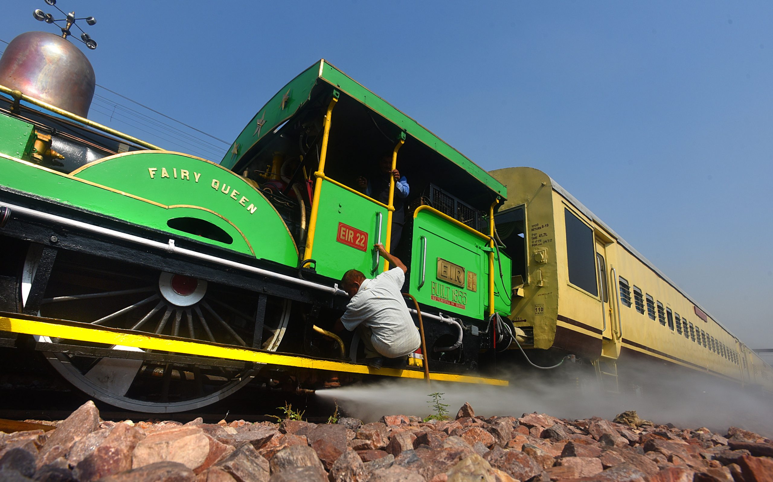 Oldest Steam Train Of The World