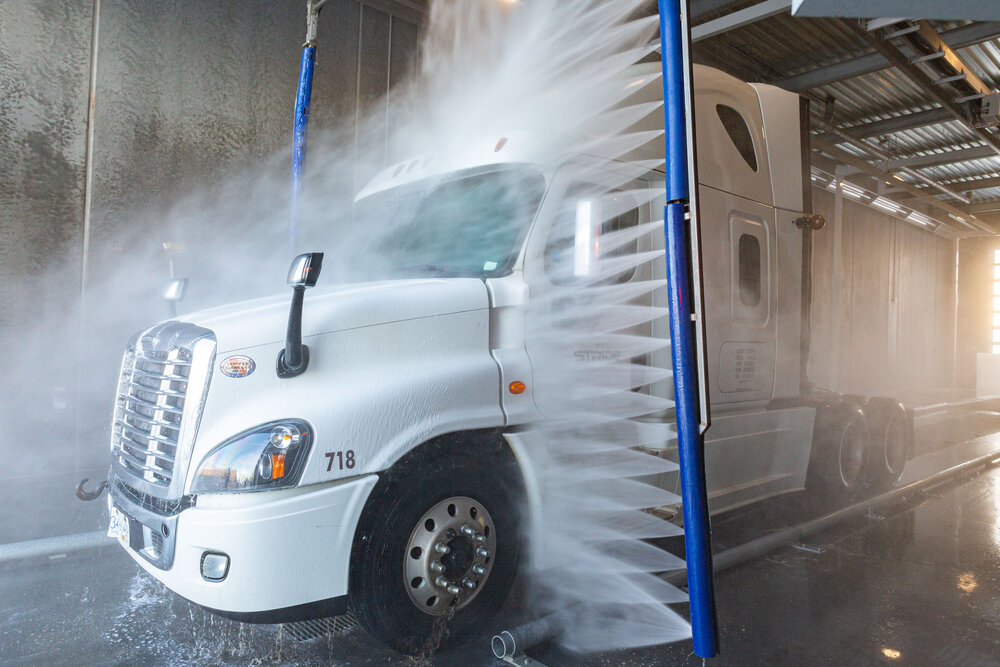 to start a truck wash